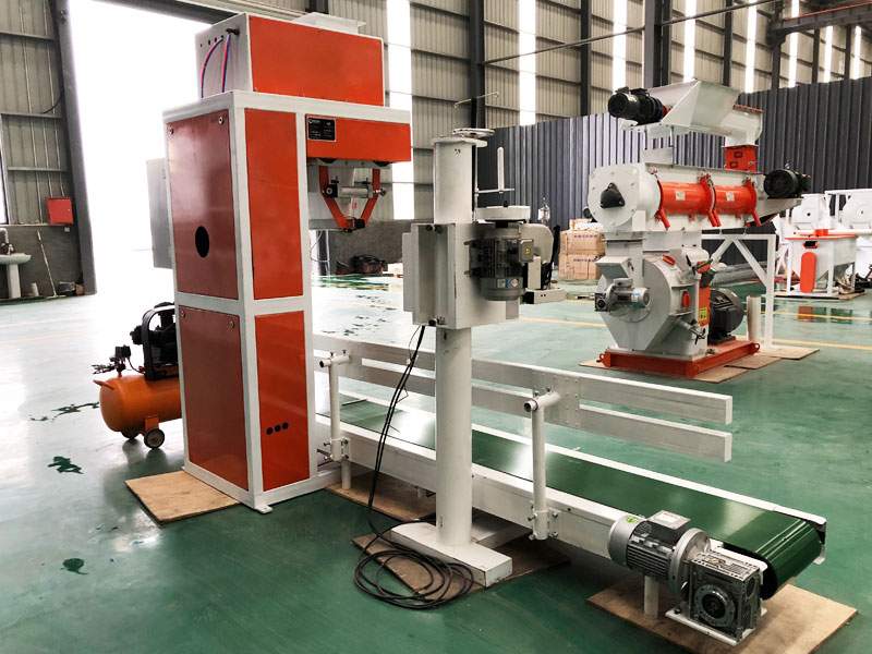 Packaging Machine For Feed Plant