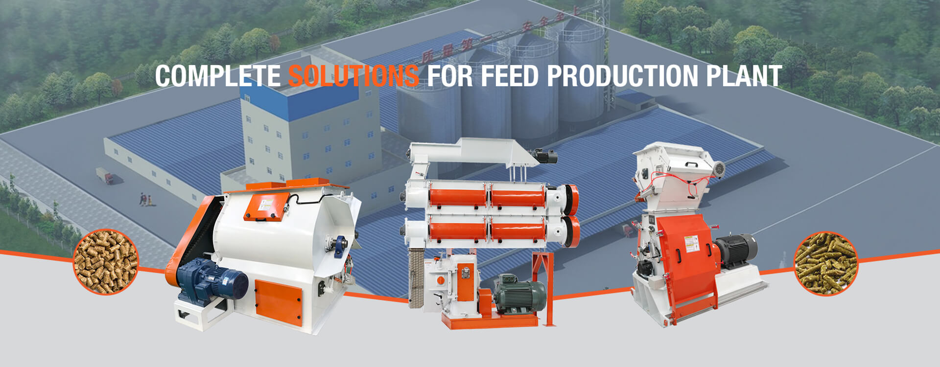 Customized Feed Production Plant