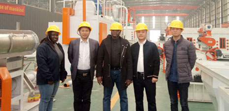 Nigerian customers visit Strongwin factory