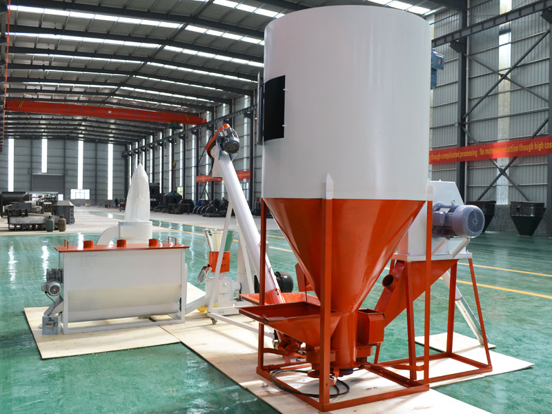 feed pellet production plant