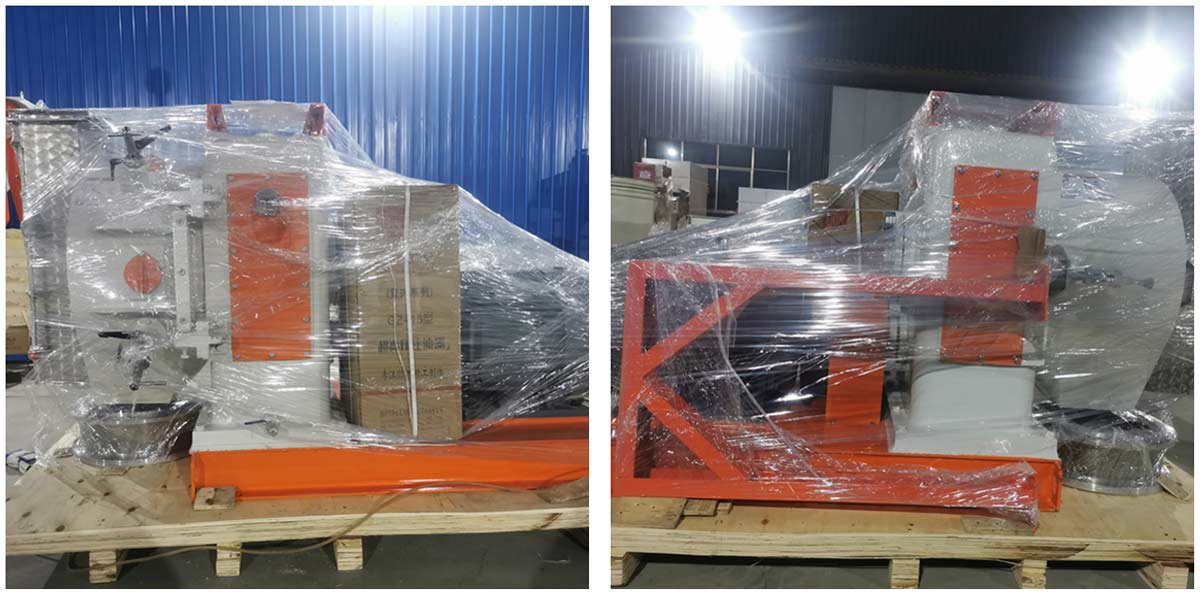 SZLH350 Feed Pellet Machine has been shipped to Russia