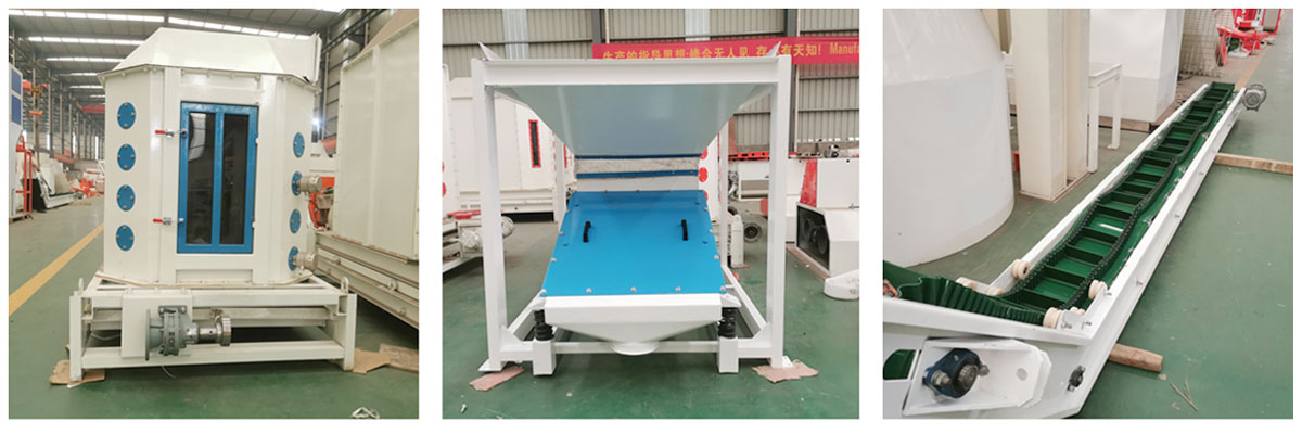 Customized Cooler, belt conveyor, vibrating screen has been sent to United Kingdom