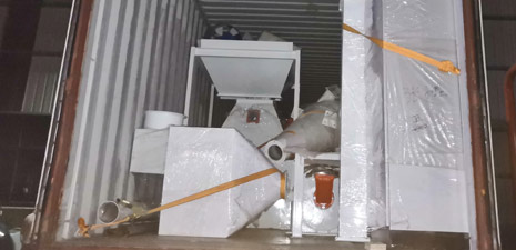 Complete Set SZLH250 Feed Pellet Plant will be sent to Cote d'Ivoire