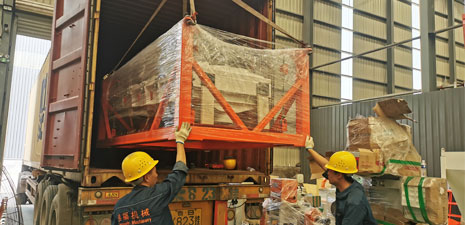 Feed Pellet Plant has been shipped to Peru