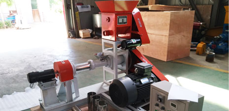 fish feed extruder machine
