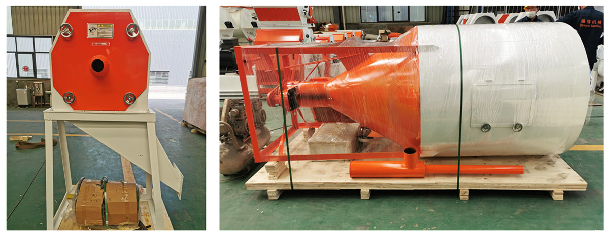 Feed Grinder & Mixer All-in-one Machine  ( Has Been Disinfected ) will be shipped to Guinea