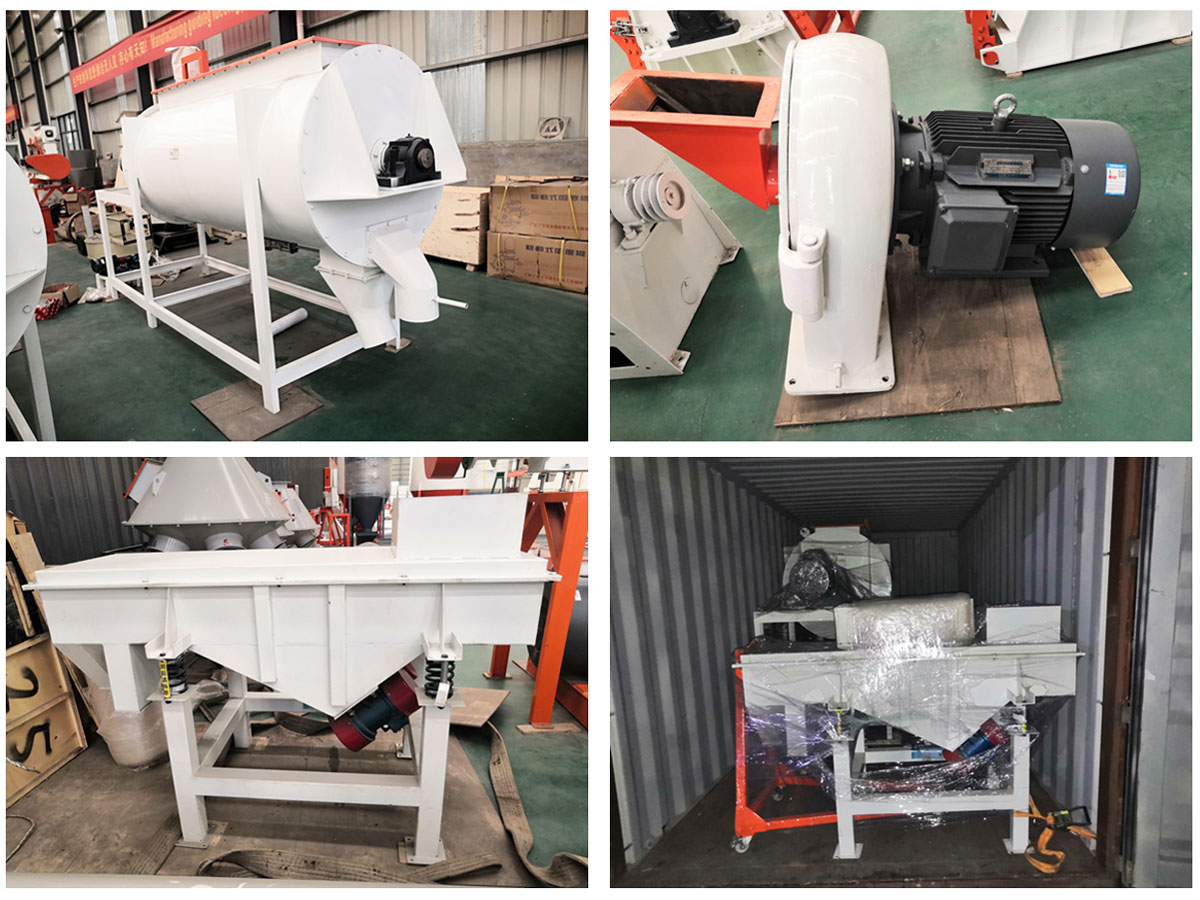 Strongwin Feed Powder Production Line Equipments will be shipped to Canada