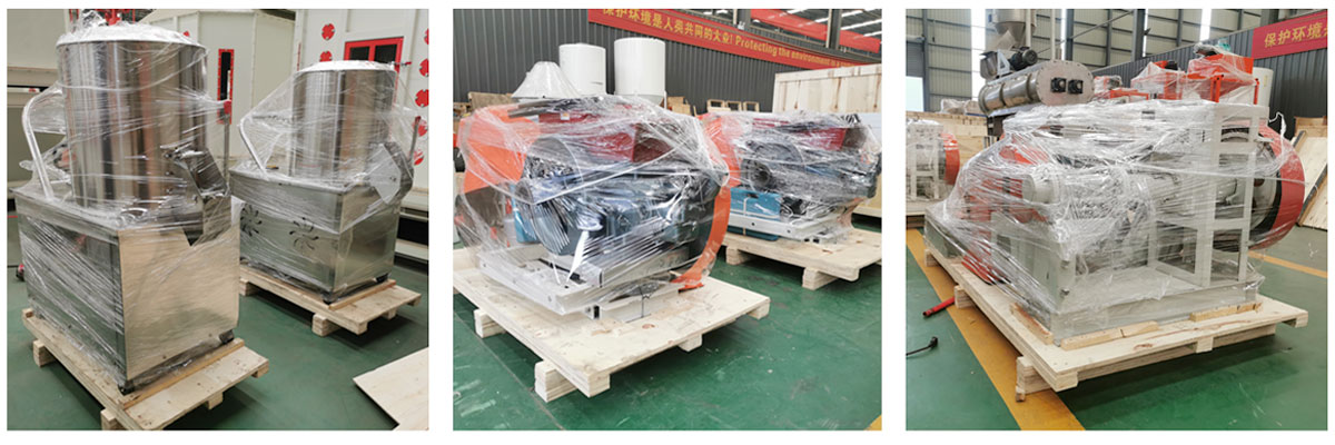 Fish Feed Machines have been shipped to Nigeria