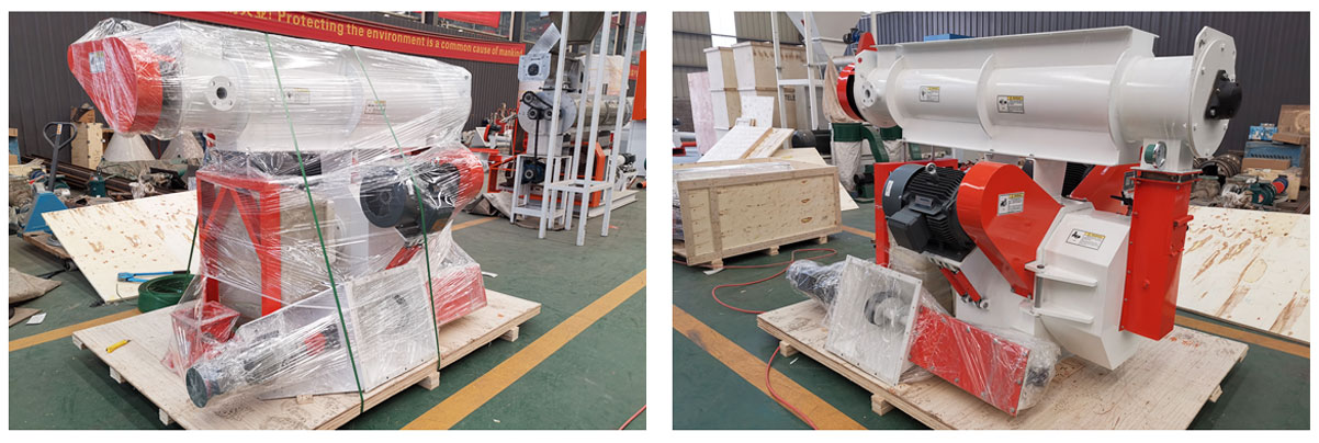 SZLH250 Feed Pellet Machine Will Be Shipped to Turkey