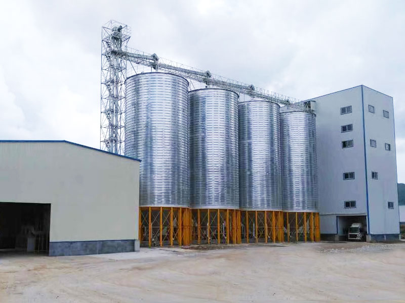 Steel Silo For Building Animal Feed Plant