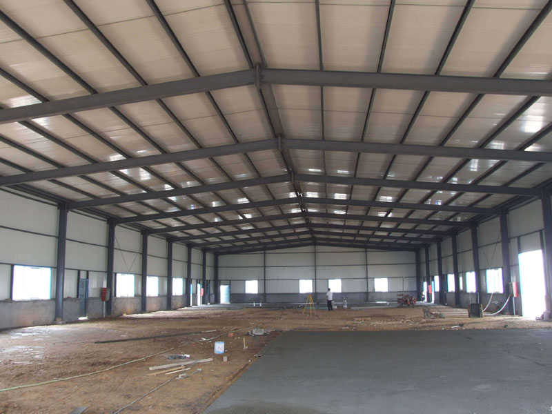 Steel Structure animal feed factory