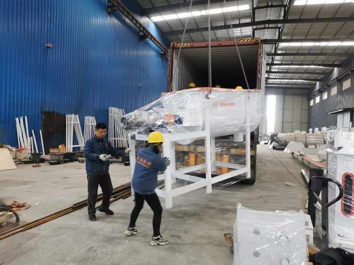 SZLH250 feed pellet plant and extruder machine will be sent to Philippines