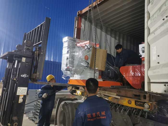 Algerian customers customized SZLH320 feed pellet production line
