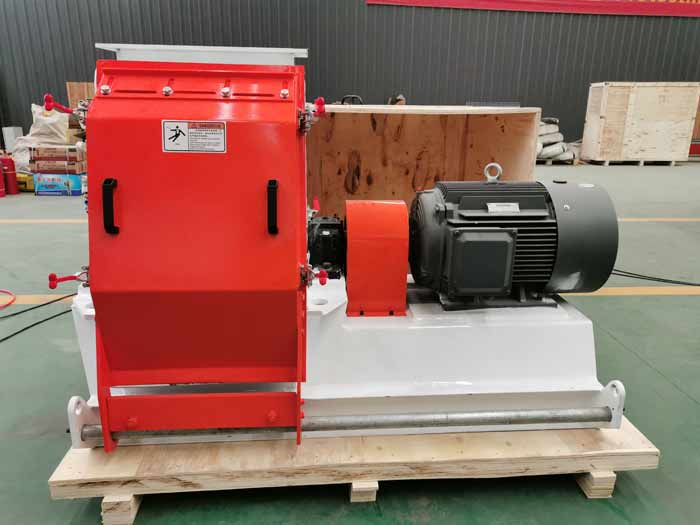 Animal feed hammer mill for Indonesia customers