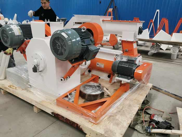 SZLH 250 feed pellet press machine for Honduras customers