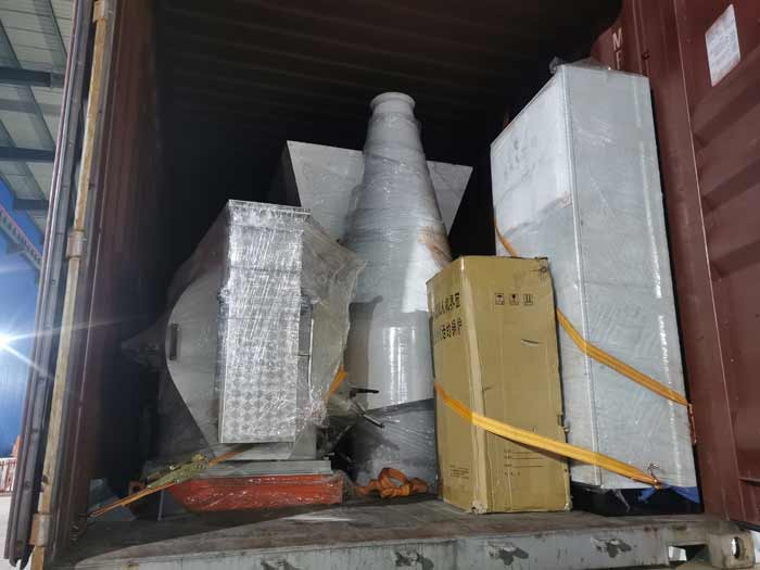 Ecuadorian customer ordered a complete feed pellet production plant project
