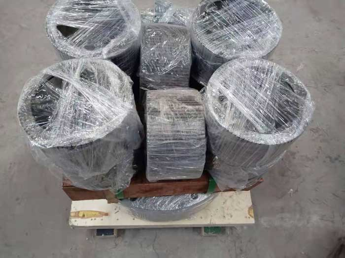 Tanzania regular customers ordered our permanent magnet cylinder and spare parts